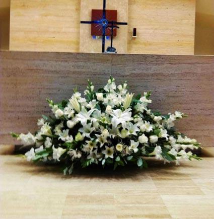 Altar Flower Arrengement Wedding Flower Arrangement