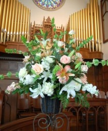 Altar Flowers Church wedding