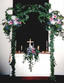 Altar Flowers Wedding