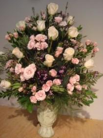 Alter Arrangement of Roses