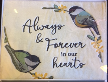 Alway and Forever Blanket