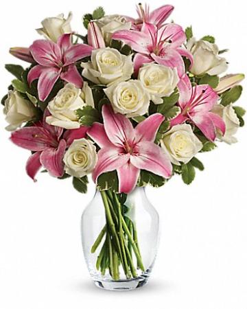 Always A Lady Fresh Floral Arrangement