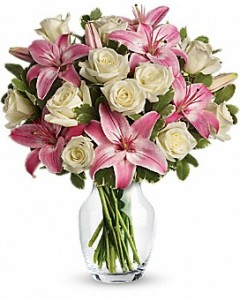 Always a Lady  Lillies and Roses  in Allen, TX | Lovejoy Flower and Gift Shop