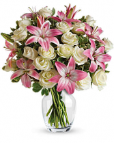ALWAYS A LADY Rose and Lilly Bouquet