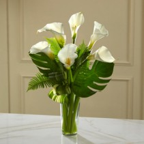 Always Adored Calla Lily Bouquet Sympathy Gift