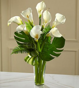 Always Adored Calla Lily Bouquet In Vancouver Bc Paradise