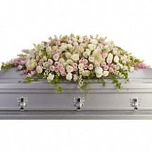Always Adored Casket Spray in Whitesboro, NY | KOWALSKI FLOWERS INC.