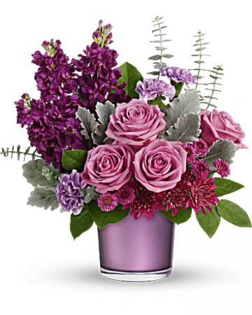 Always Amethyst Bouquet Ceramic