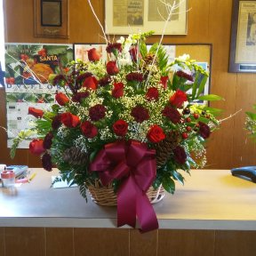 Always and Forever Loved  Funeral basket