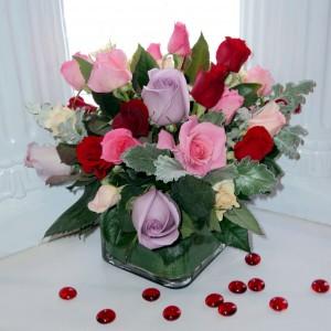 Always and Forever vase arrangement