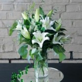 Always Elegant Lilies Arrangement
