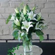 Always Elegant Lillies Arrangement