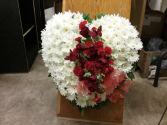 Always in my heart Standing Sprays and Wreaths