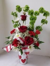 Always In My Heart Valentine's Arrangement