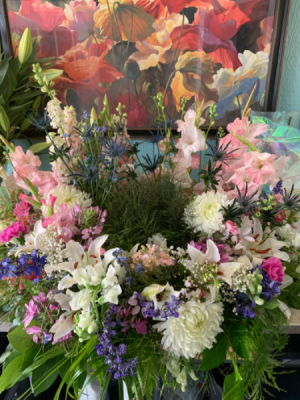Always In Our Heart Frame or Urn Table Wreath in Syracuse, IN   Dynamic Floral