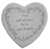 Always in Our Heart Plaque