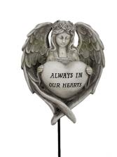 Sympathy Keepsake - Always In Our Hearts Angel