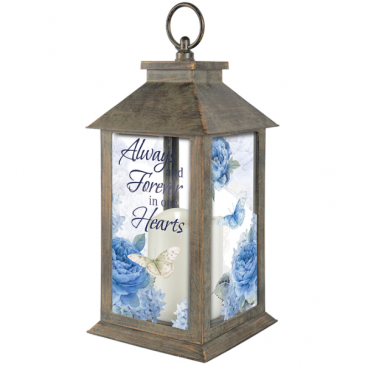 Always in our Hearts Lantern