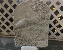 Always In Our Hearts Memorial Stone