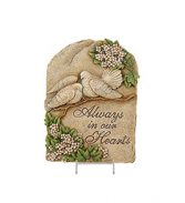 Always in our Hearts Plaque Plaque