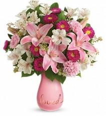 Always Loved Valentine Bouquet