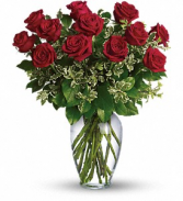 Always on my mind Dozen Red Roses Arranged