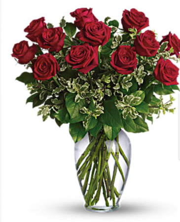 Always on My Mind Long stem roses