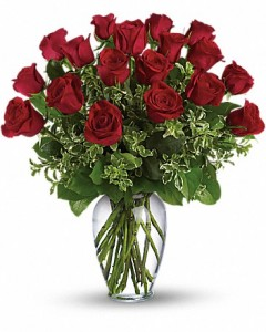 Always on My Mind - Long Stemmed Red Roses ---