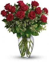 Always on My Mind Long Stemmed Red Roses