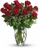 Always on My Mind Dozen Long Stemmed Red Roses