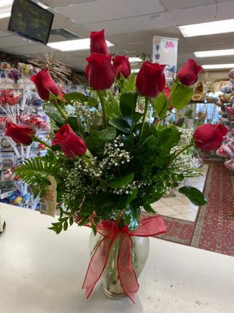 You're The Best One Dozen Long Stems  Ecuadorian Roses