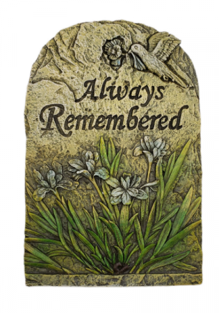 Sympathy Plaque - Always Remembered