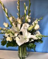 Always Remembered Vase Arrangement