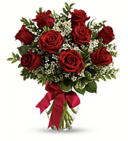 Always Thinking of You Roses  9 Roses Arrangement