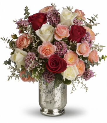 Always Yours Bouquet All-Around Floral Arrangement