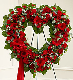 Always Remembered Red Rose Heart in Gainesville, FL   PRANGE'S FLORIST