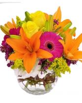 amazing bright vase