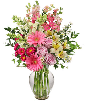 Amazing Day Bouquet Spring Flowers in Ozone Park, NY | Heavenly Florist