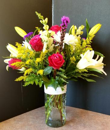 Amazing Flowers Vase