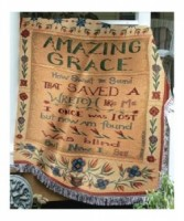 Amazing Grace - MWT-16 Sympathy Throw