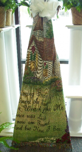 """Amazing Grace"" Afghan Sympathy Keepsake Item"