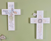Amazing Grace and Serenity Prayer Crosses