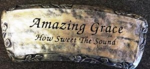 Amazing Grace Bench in Springfield, IL | FLOWERS BY MARY LOU INC