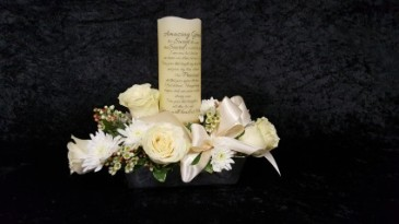 Amazing Grace Candlelight Arrangement