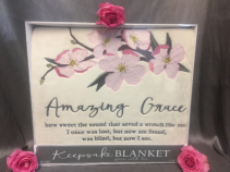 "Amazing Grace Comforter by Carson""s"