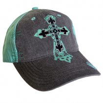 Amazing Grace Cross Ladies Ball Cap