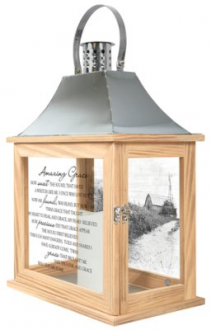 Amazing Grace Inspirational Lantern