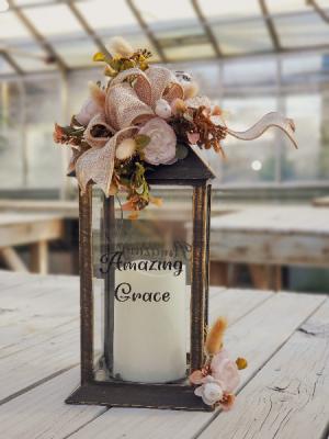 Amazing Grace Lantern  in Warsaw, IN | ANDERSON FLORIST & GREENHOUSE