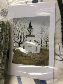 Amazing Grace Memorial Throw