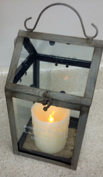 Amazing Grace Open Top Lantern  Sympathy Gifts